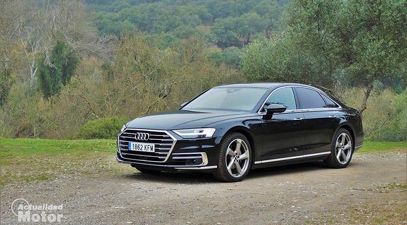 Prueba Audi A8