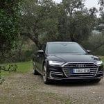 Prueba Audi A8 TDI exteriores