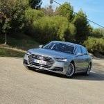 Prueba Audi A8 L TFSI exteriores