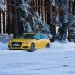 Prueba Audi S4 Avant en nieve