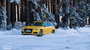 Audi S4 Avant en la nieve