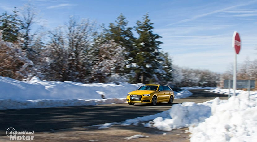 Prueba Audi S4 Avant en movimiento