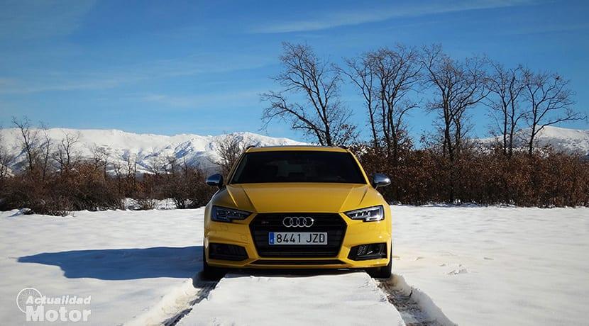 Prueba Audi S4 Avant frontal