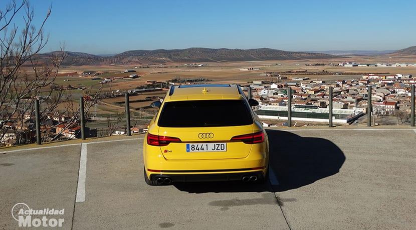 Trasera Audi S4 Avant