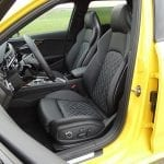 Prueba Audi S4 Avant asientos deportivos