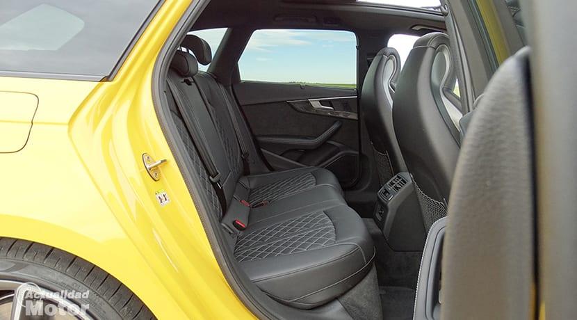 Plazas traseras del Audi S4 Avant