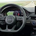 Prueba Audi S4 Avant cuadro de instrumentos y volante