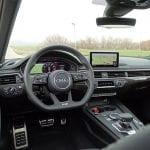 Prueba Audi S4 Avant puesto de conducción