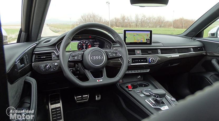 Prueba Audi S4 Avant interior