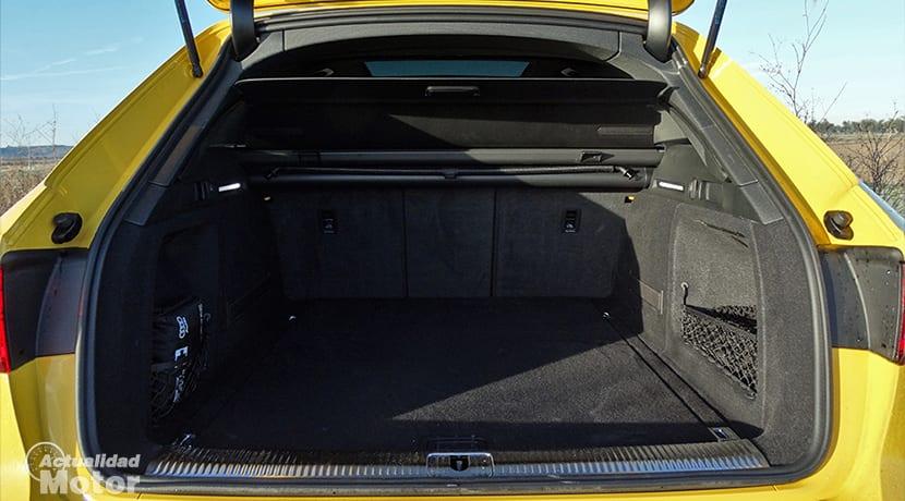 Maletero del Audi S4 Avant