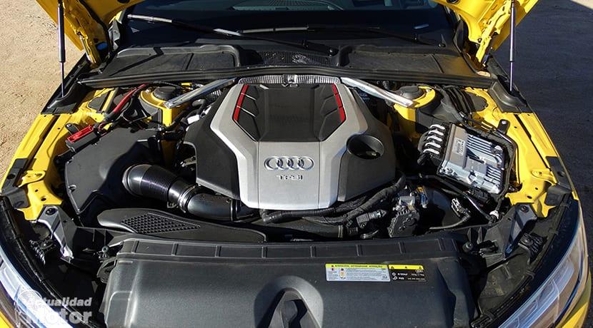 Motor 3.0 TFSI V6 del Audi S4 Avant