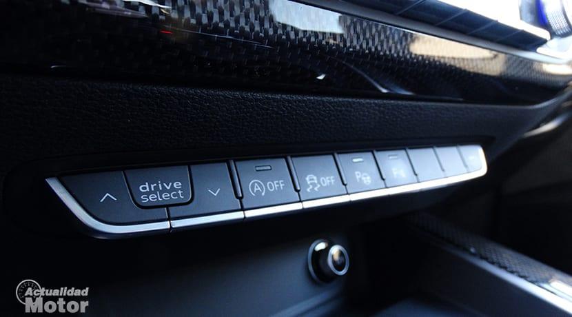 Audi drive select modos de conducción Audi S4 Avant