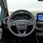 Interior del Ford Fiesta