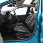 Espacio del Interior del Ford Fiesta