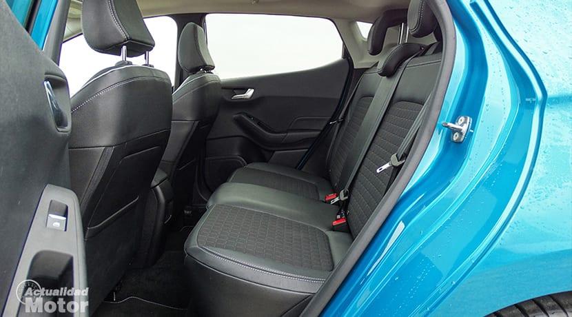 Espacio de las plazas traseras del Ford Fiesta