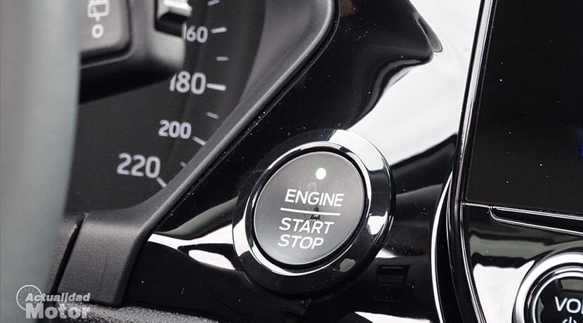 Botón de arranque Ford Fiesta