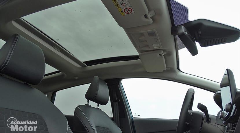 Techo solar del Ford Fiesta