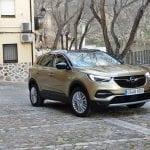 Prueba Opel Grandland X perfil delantero