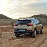 Prueba Opel Grandland X perfil trasero