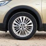 Prueba Opel Grandland X llantas de 18 pulgadas