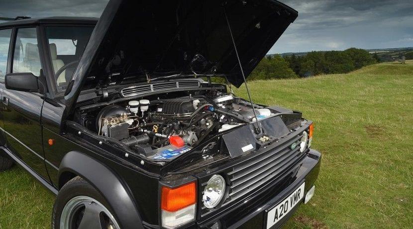 Motor del Range Rover Chieftain