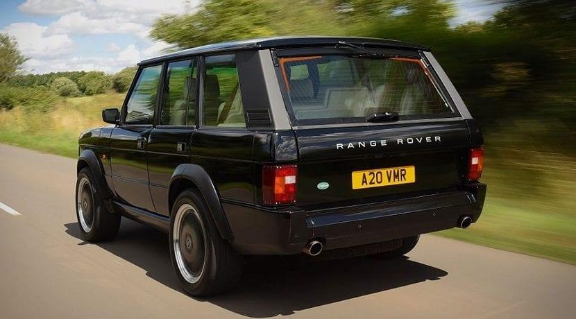 Trasera del Range Rover Chieftain