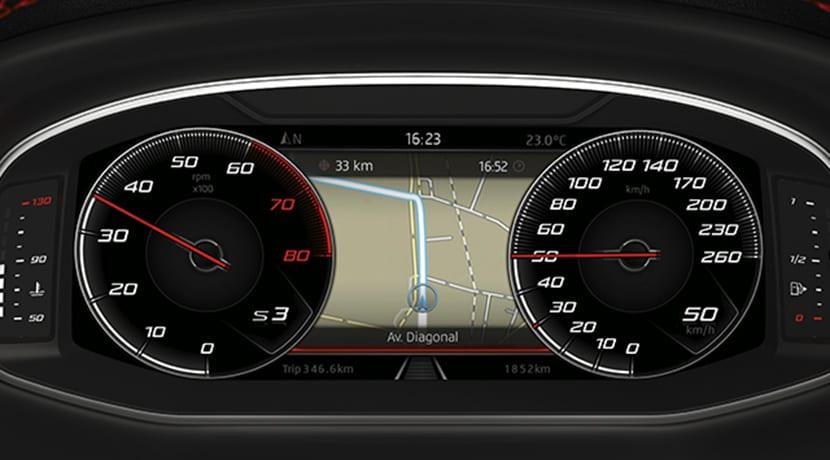 Cuadro de instrumentos Seat Digital Cockpit