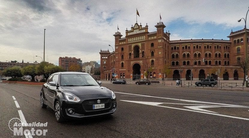 Prueba Suzuki Swift 1.0 GLX HSVS (frontal)