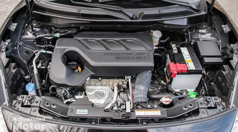 Prueba Suzuki Swift 1.0 GLX HSVS (motor)