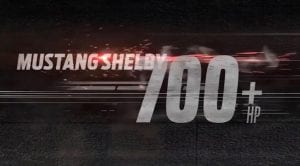 Teaser del Ford Mustang Shelby GT500