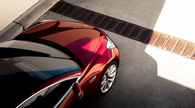 Producción cuarto trimestre 2017 Model 3