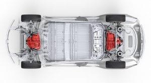 Sistema de tracción total del Tesla Model 3