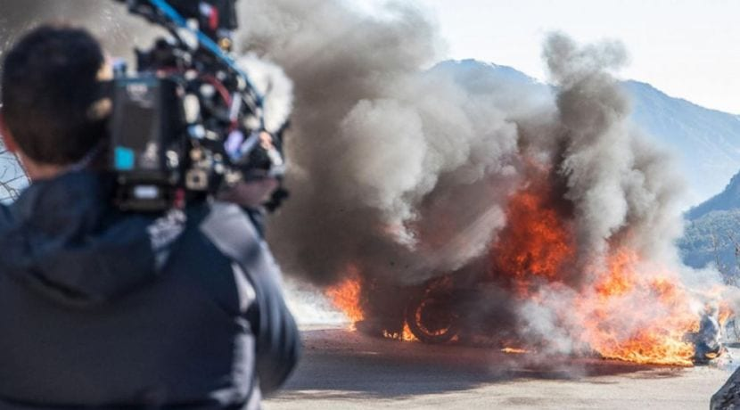 Alpine A110 ardiendo en Top Gear