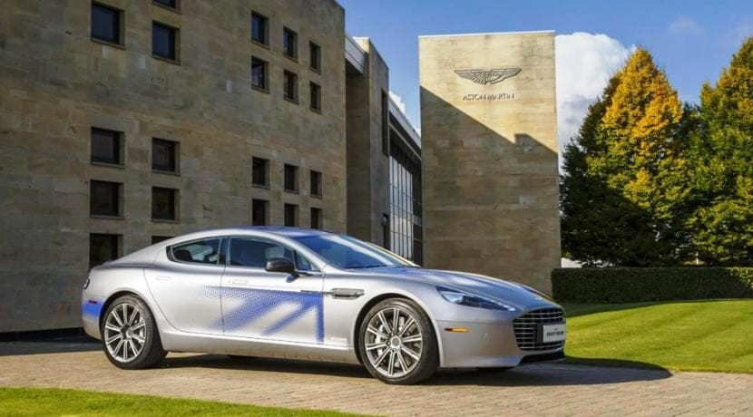 Aston Martin Rapide Electric