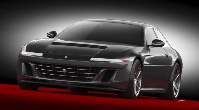 Ferrari 412 2018 Ares Design