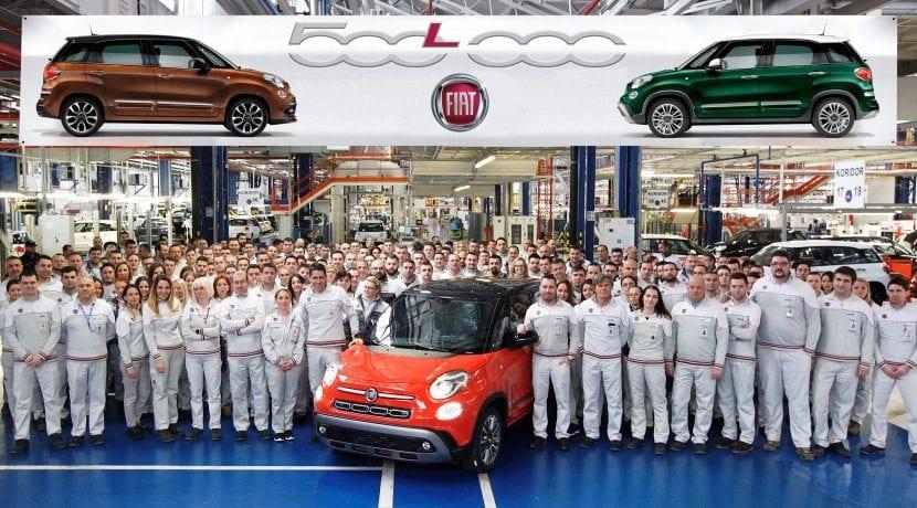 Fiat 500L 500 mil unidades