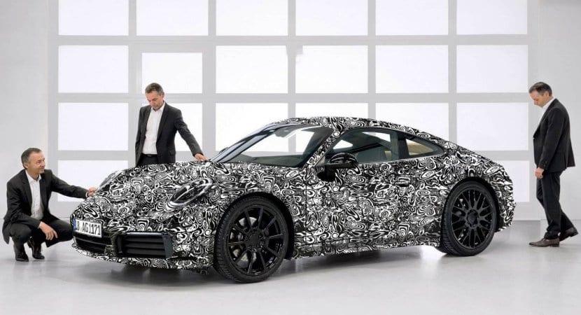 Octava generación del Porsche 911 (992) 2019