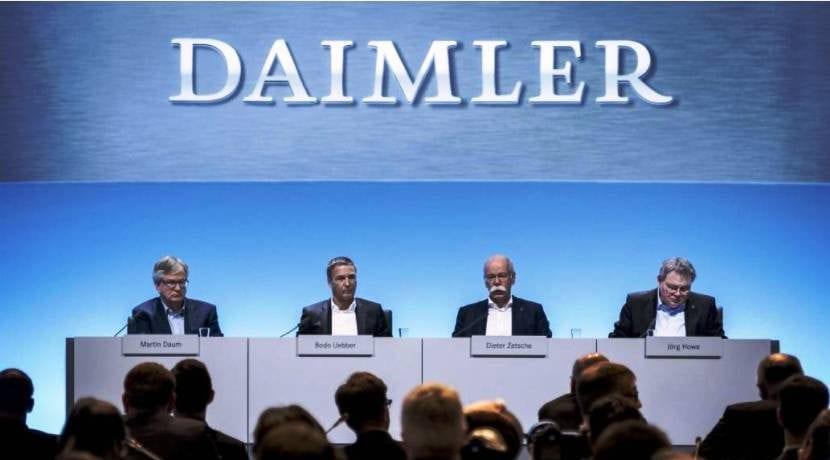 Resultado Económico Daimler-AG Mercedes-Benz 2017