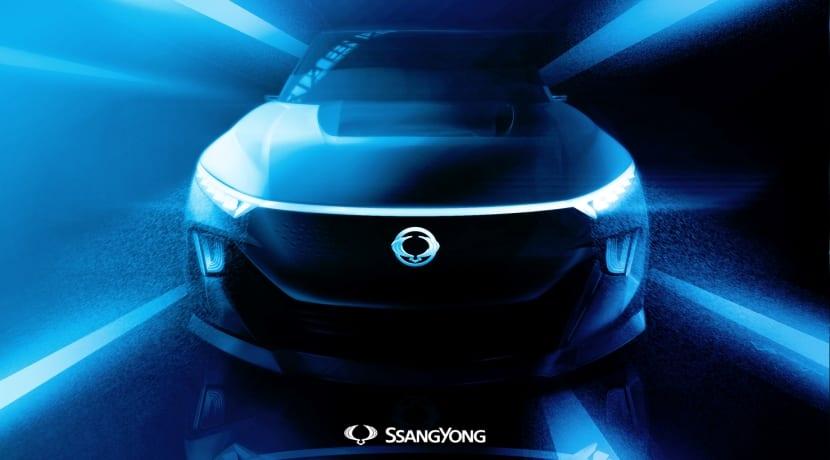 SsangYong concept e-SIV