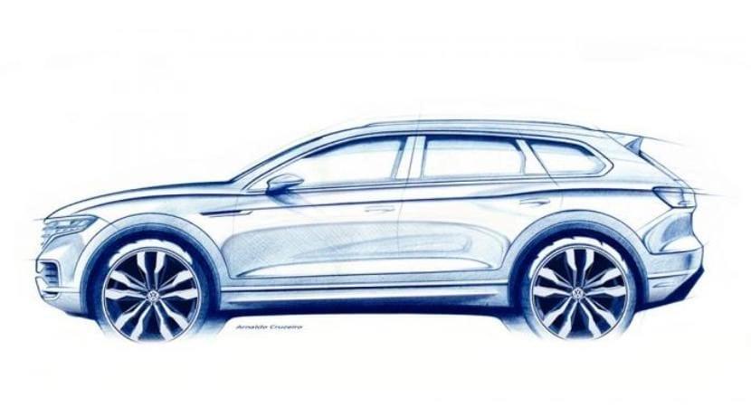 Volkswagen Touareg 2019 teaser