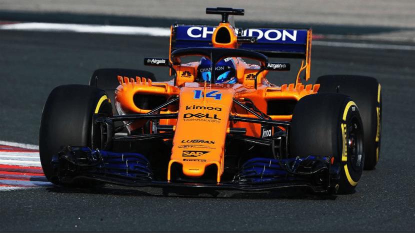 Alonso estrenando el McLaren MCL33