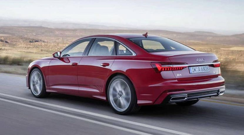 Audi A6 filtrado
