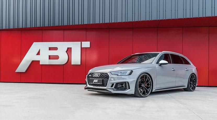 Frontal del Audi RS4 Avant ABT