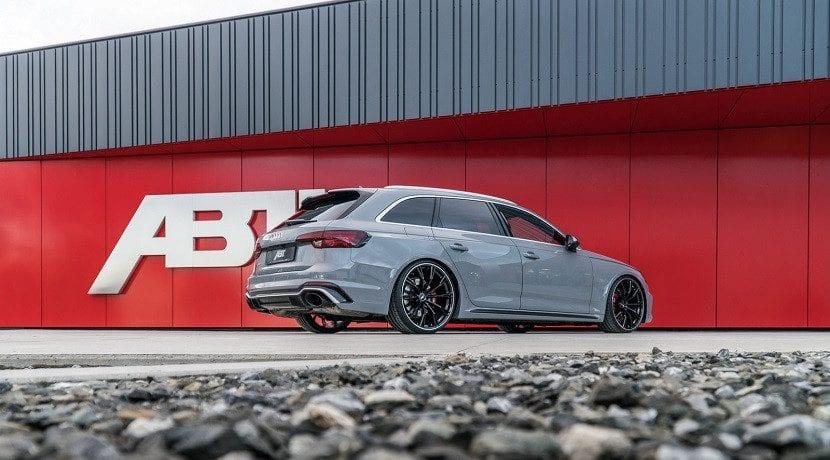 Trasera del Audi RS4 Avant ABT