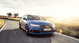 Frontal del Audi RS6 Avant Performance Nogaro Edition
