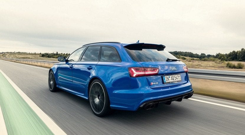 Trasera del Audi RS6 Avant Performance Nogaro Edition