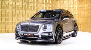 Frontal del Bentley Bentayga Startech