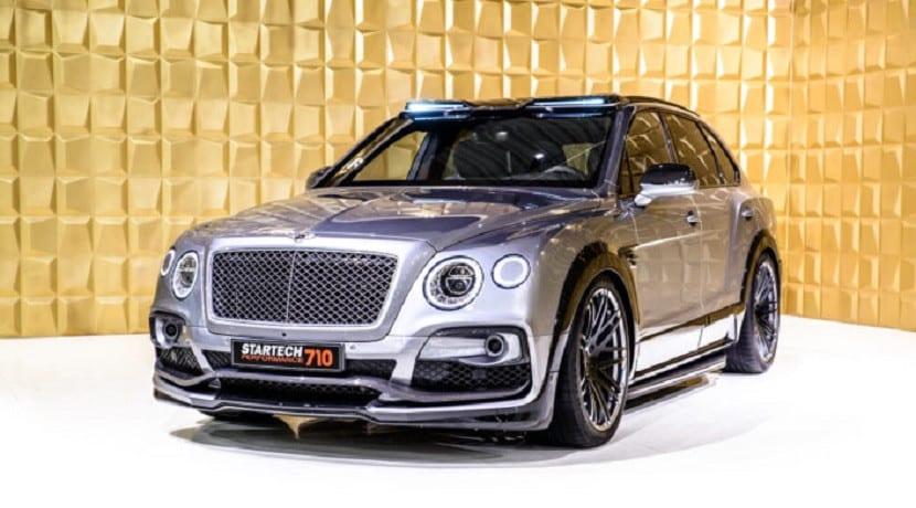 Frontal del Bentley Bentayga Startech