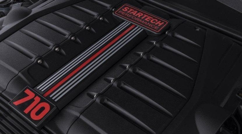 Motor del Bentley Bentayga Startech