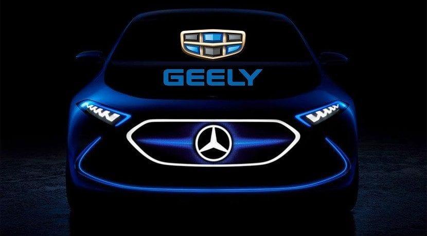 Geely planea ser el mayor accionista de Daimler Mercedes